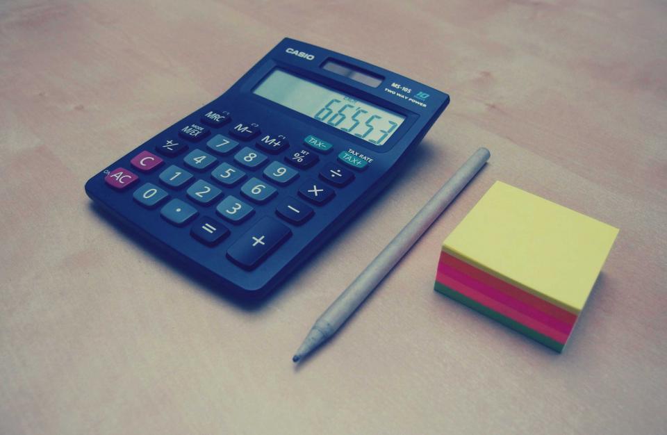 Imagen gratis de una calculadora