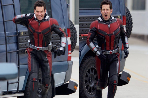New Pics from Ant Man and the Wasp Set   Takes On Tech Ant Man and the Wasp opens in cinemas on July 6th next year