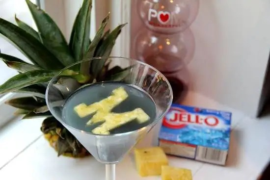 Go Blue-tini Cocktail Recipe | SnappyGourmet.com