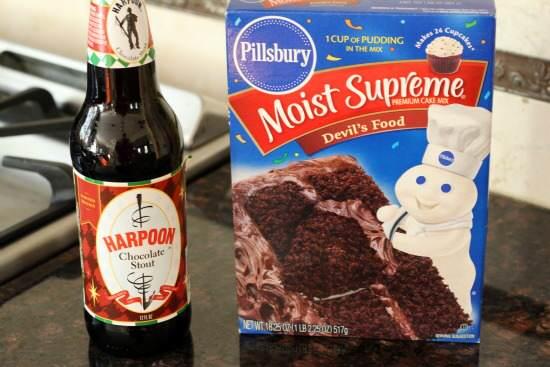 Chocolate Stout Cupcakes Recipe | SnappyGourmet.com