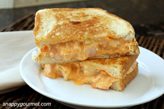 Buffalo Shrimp Grilled Cheese
