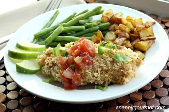 Crunchy Mexican Tortilla Chicken Recipe   SnappyGourmet.com