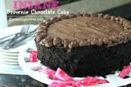 Insane Brownie Chocolate Cake