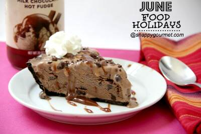 mexican chocolate ice cream pie - june food holidays
