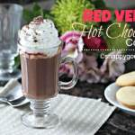 Red Velvet Hot Chocolate Cocktail