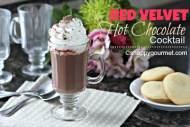 Red Velvet Hot Chocolate Cocktail