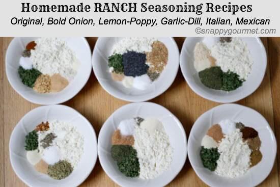 Ranch Seasoning Recipe | snappygourmet.com