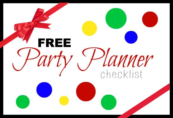 Free Party Planner Checklist | snappygourmet.com