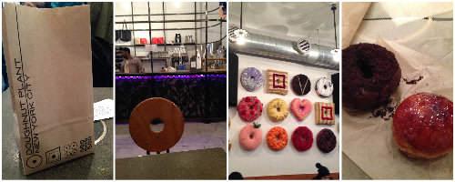 NYC Food Tour - doughnut plant | snappygourmet.com