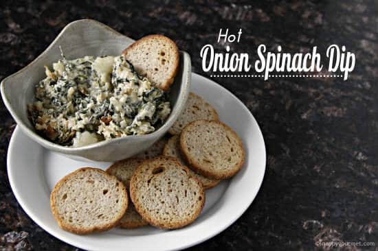 Hot Onion Spinach Dip