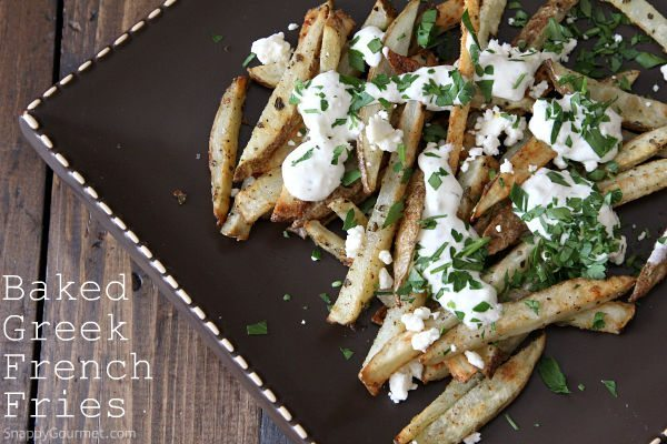 Baked Greek French Fries Recipe
