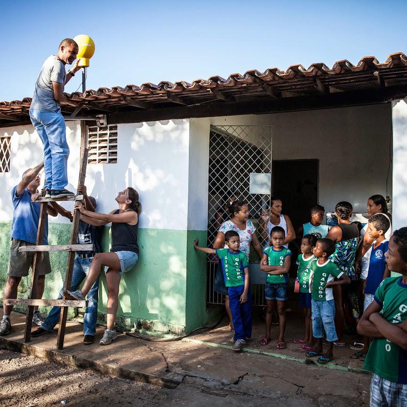 Pruebas en Brasil