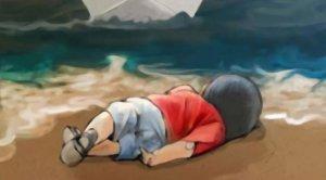 Aylan Kurdi. No merecías este final. Nadie es refugiado, somos todos humanos...