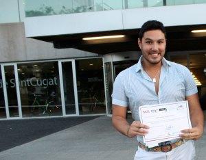 Emprendedor Boliviano logra el 2do lugar en concurso en España