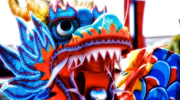 The pearl in a dragon's mouth gives it power to fly to the heavens, as Chinese dragons have no wings. Photo Credit: Jim Nix