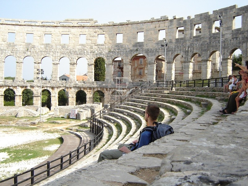 "Pula Croatia Amphitheater Pula Amphitheater Croatia """