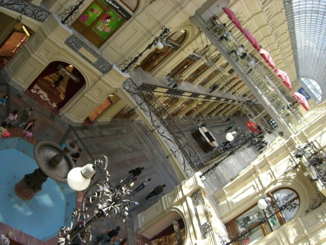 GUM department store interior, Moscow, Russia