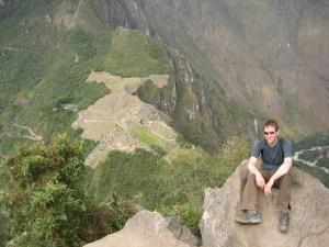 Machu Picchu from the Huayna Picchu summit.