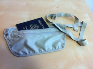 Seriously, how hard is it to just make a money belt the same size as a passport?