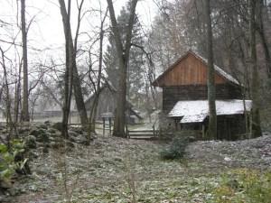 Near Castle Bran, Romania.