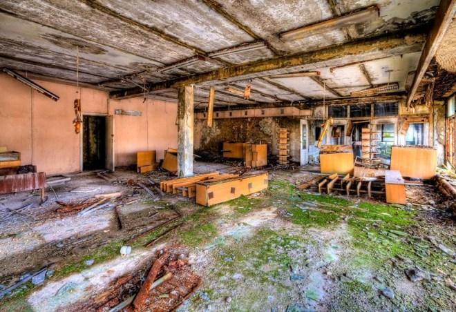 Community Center Lobby, Pripyat, Chernobyl, Ukraine