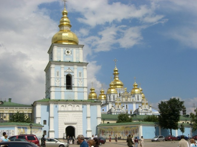 St. Michael's Gold-domed Monastery, Kiev, Ukraine