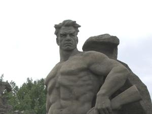 Stalingrad memorial monument, Volgograd, Russia