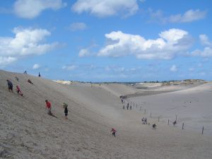 Słowiński National Park sand dunes, Poland
