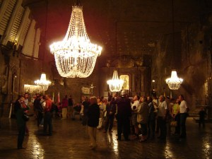 Wieliczka Salt Mine Cathedral, Poland
