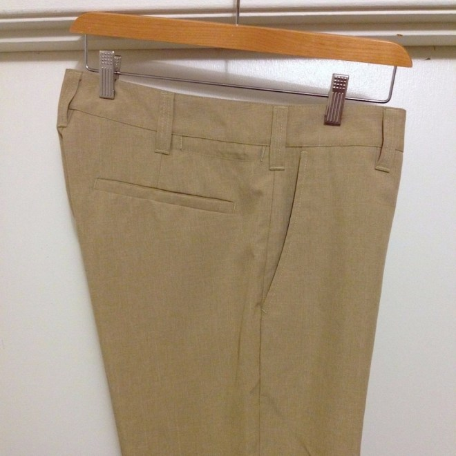 Bluffworks travel pants side view