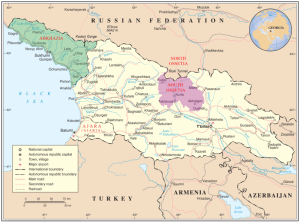 Georgia and contested regions
