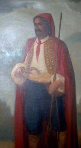 Croatian mercenary with a cravat