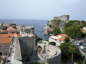 Dubrovnik walls and fortifications