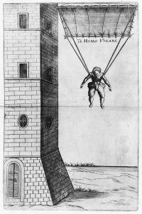 Homo Volans parachute diagram