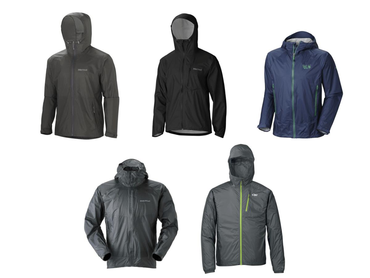 5 of the best lightweight packable rain jackets