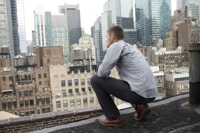 Overlooking NY in Outlier gear