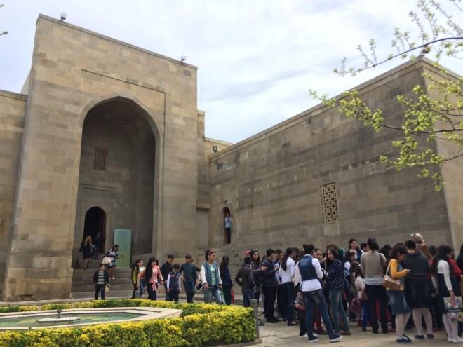 Palace of the Shirvanshahs entrance