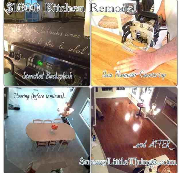 DIY $1600 Kitchen Makeover