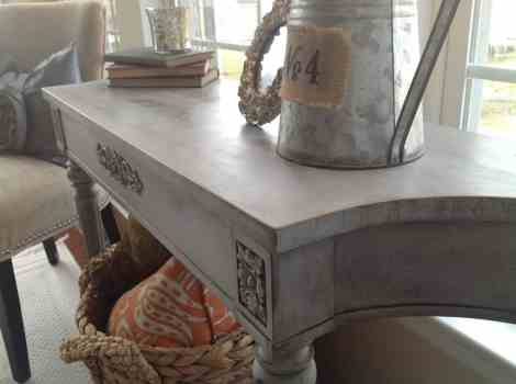 Final Result:  Annie Sloan Chalk Paint in Paris Grey
