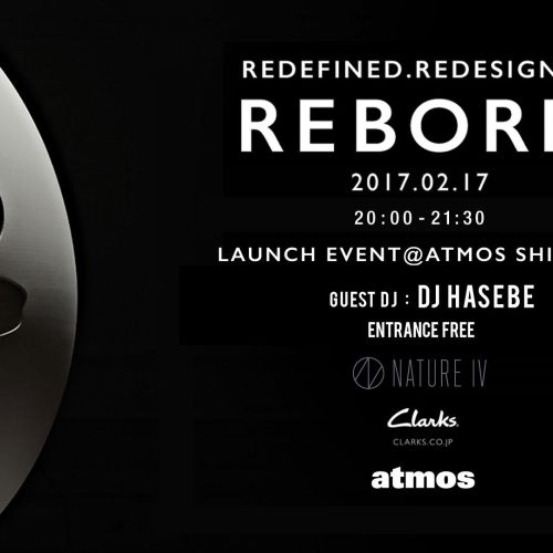 CLARKS NATURE Ⅳ LAUNCH PARTY