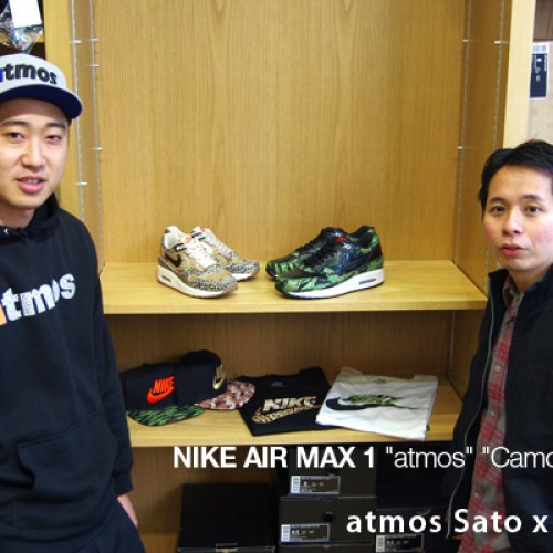Interview with atmos Yuichi Sato x Kinetics Koji
