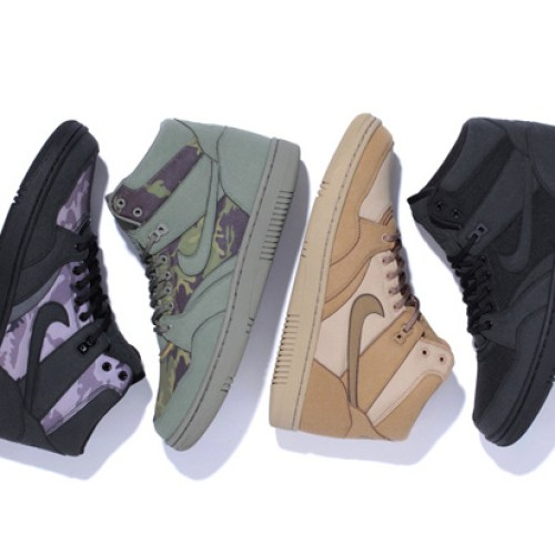 Stussy x Nike Sky Force 88 Mid Capsule Collection