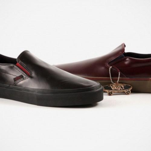 Vans Vault Premio Leather Slip-Ons