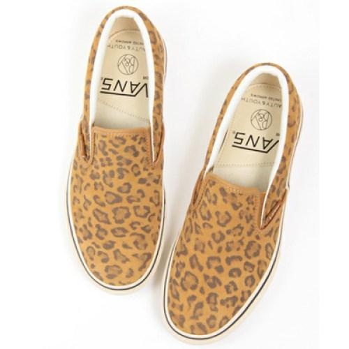 BEAUTY&YOUTH x VANS Leopard Slip-On