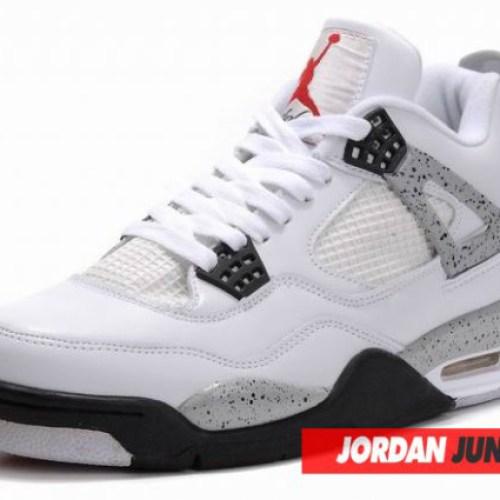 Nike Air Jordan IV White/Cement Grey Retro
