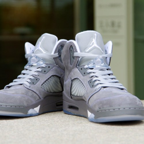 NIKE AIR JORDAN 5 RETRO WOLF GREY