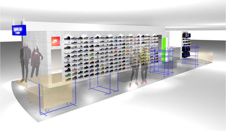 Sports Lab by atmosは福岡県博多に第9号店をオープンし、同ショップ限定のNIKE AIR PRESTO GPXを先行発売