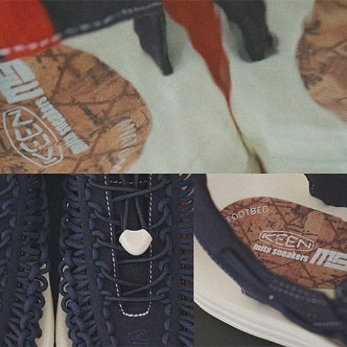 "KEENから、mita sneakersとのコラボレーションモデルUNEEK ""mita sneakers""が登場"