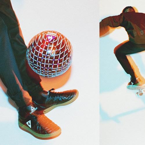 ルコックスポルティフから、mita sneakersによるディレクションモデルPLUME Xが登場