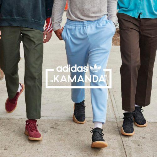 アディダス オリジナルスから、1980年代に一世を風靡したテラスウェアのムーブメントとフットボールカルチャーからインスパイアされたKAMANDAが世界一斉発売